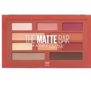 Maybelline The Matte Bar Eyeshadow Palette